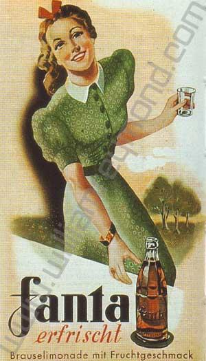โฆษณาแฟนต้าในยุคนาซี